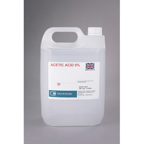 CW - Acetic Acid 9% (5ltr)