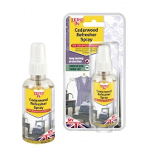Moth Repellent - SPRAY - Cederwood - 75ml x 6