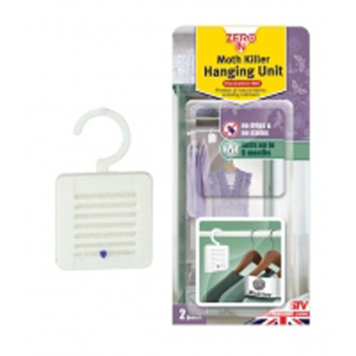 Moth Killer - HANGING - (Twinpack) x 12