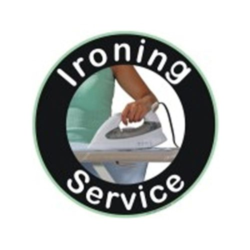 Poster - IRONING SERVICE (Large) 75cmx75cm