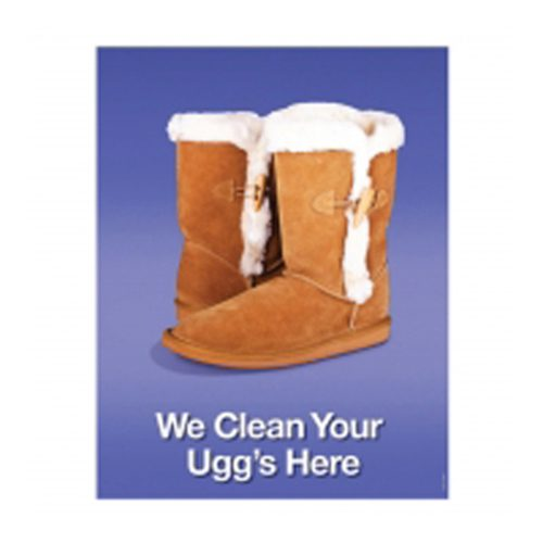 "Poster - WE CLEAN UGGS HERE 22"" x 28"""