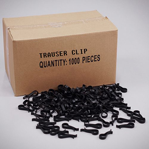 Trouser Clips - R Shaped - Plastic (1000)