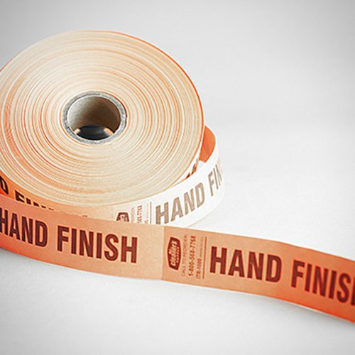 Tuff Tape - ZP - (HAND FINISH) - Orange - (x2)