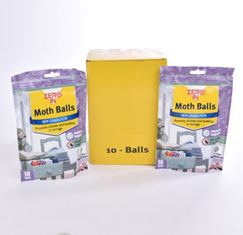 Moth Killer - MOTH BALLS x (10 balls/pk - 6 packs)